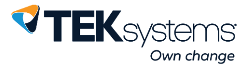This is the TEKsystems logo.