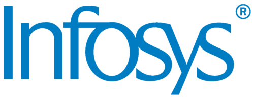 This is the Infosys logo.